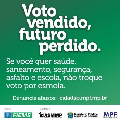 Resultado de imagem para VOTO VENDIDO, FUTURO PERDIDO