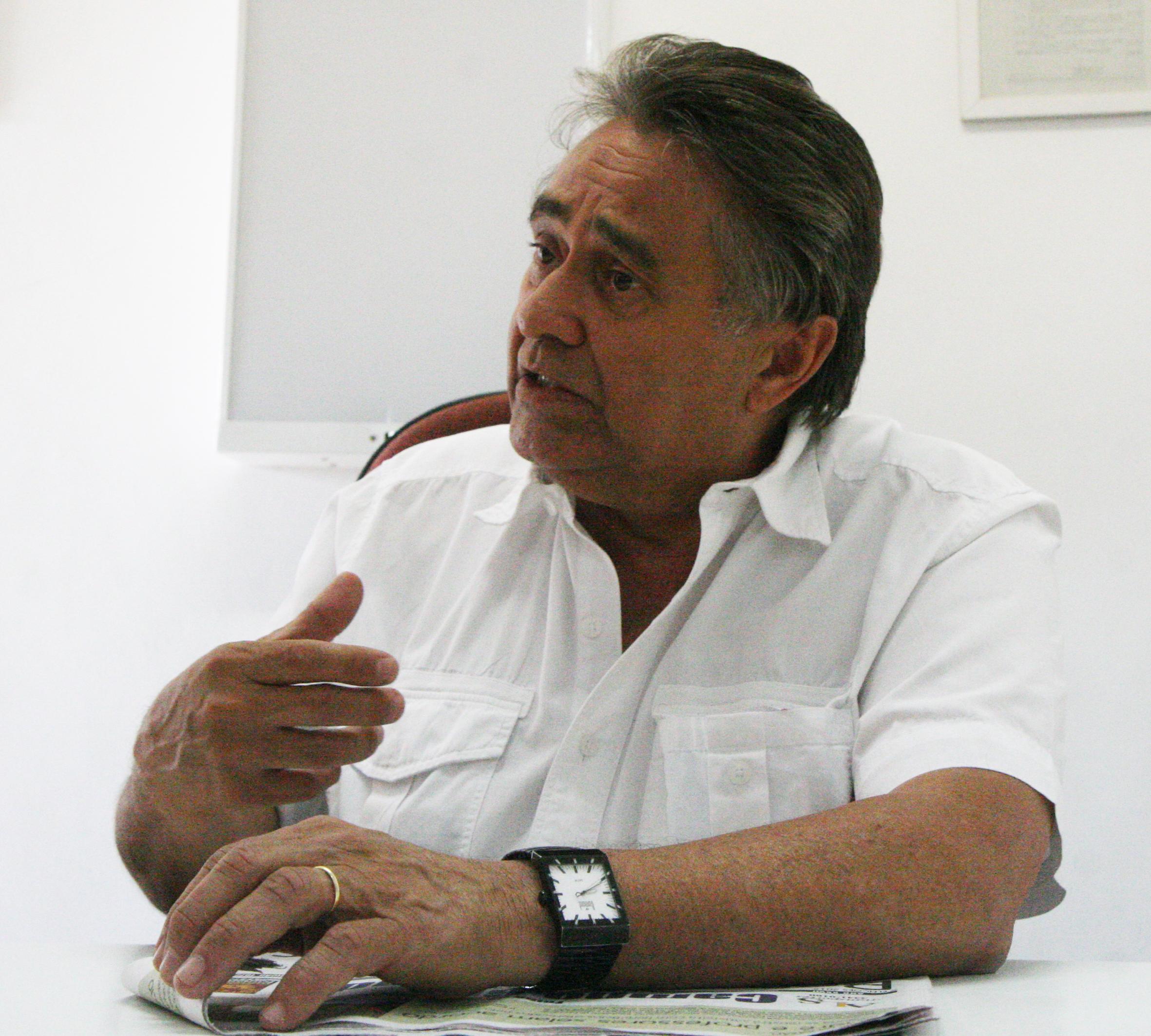 "O médico e vereador Antonio Cruz: ""Sempre tive como foco a assistência social, a solidariedade"""