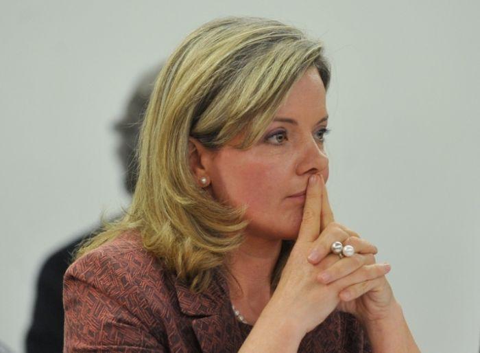 A senadora Gleisi Hoffmann: deputada a partir de 2019