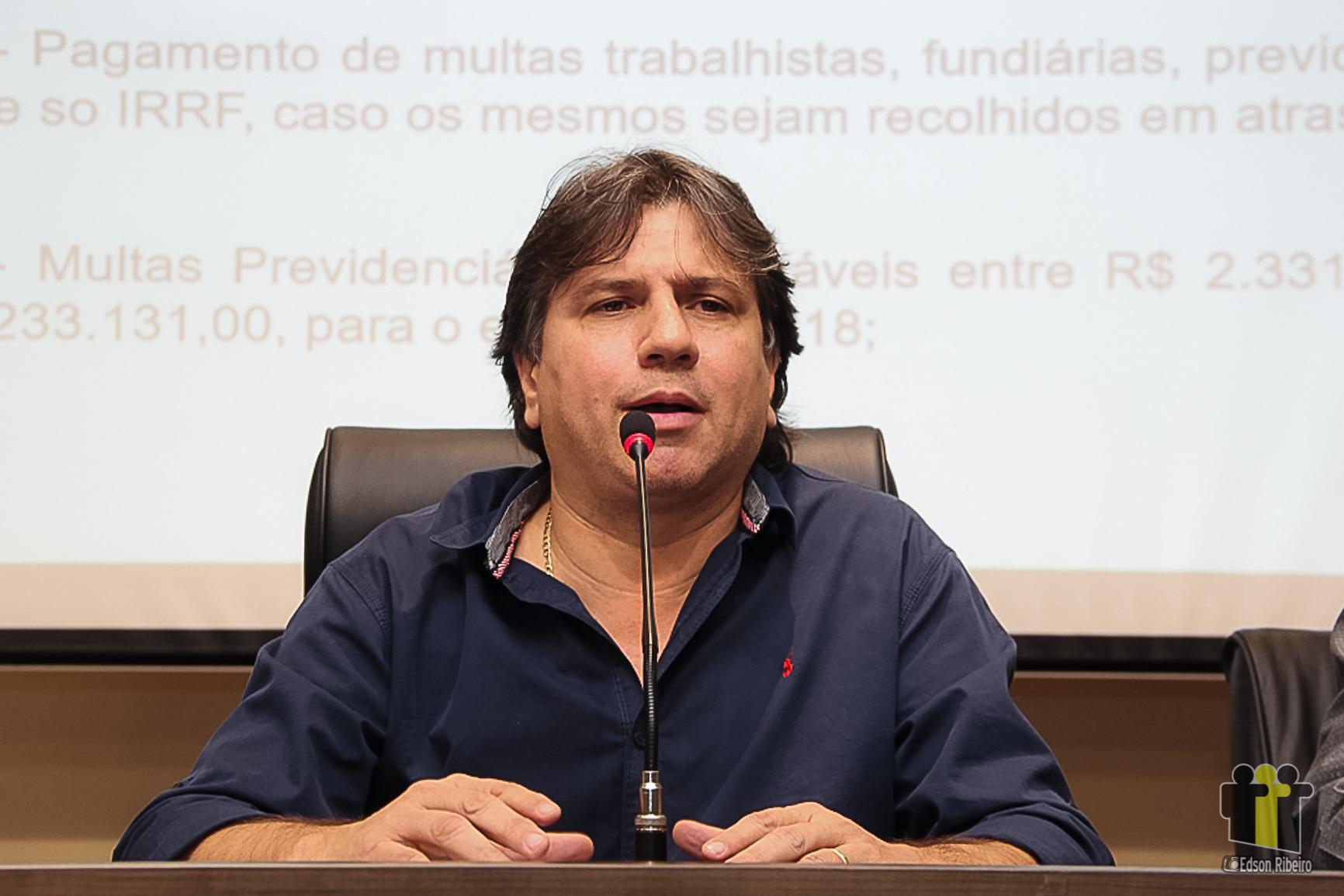 O presidente da Assomasul, Pedro Caravina