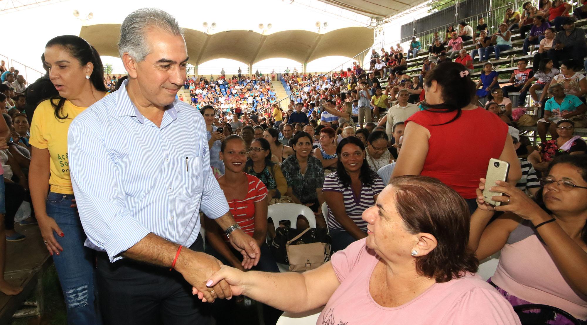 """Reinaldo Azambuja, categórico: """"O Vale Renda foi criado para atender somente a quem precisa"""""""