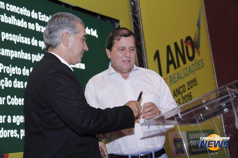 Reinaldo Azambuja e Sérgio de Paula: alicerce sólido para o PSDB de Mato Grosso do Sul