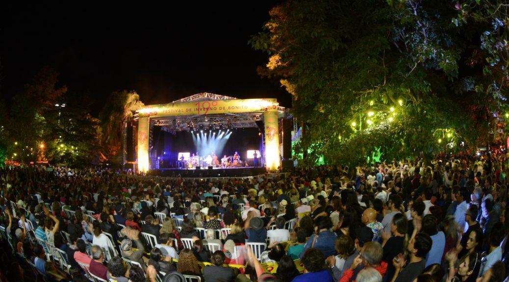 Festival de Inverno de Bonito de 2019 acontece de 25 a 28 de julho