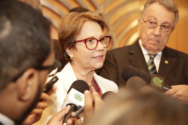 Na 81ª Expogrande, ministra confirma que Mato Grosso do Sul está no Projeto Paisagens Rurais