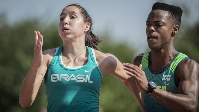 A campo-grandense Gabriela Ferreira trouxe duas medalhas do Parapan de Lima 2019