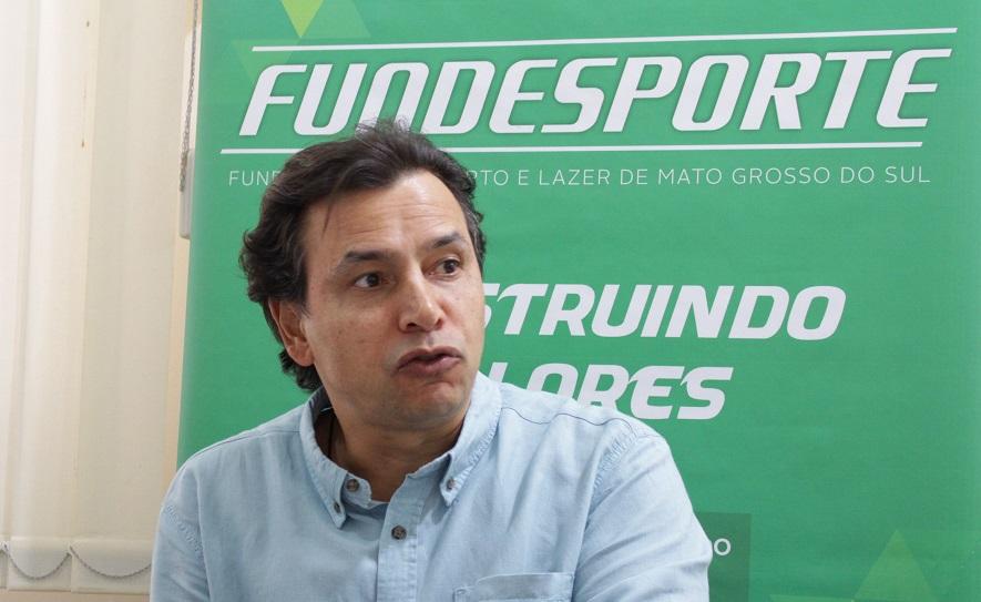 """Marcelo Miranda, presidente da Fundesporte: """"É importante que nossos atletas fiquem atentos e tentem se cadastrar, apesar do curto espaço de tempo"""""""