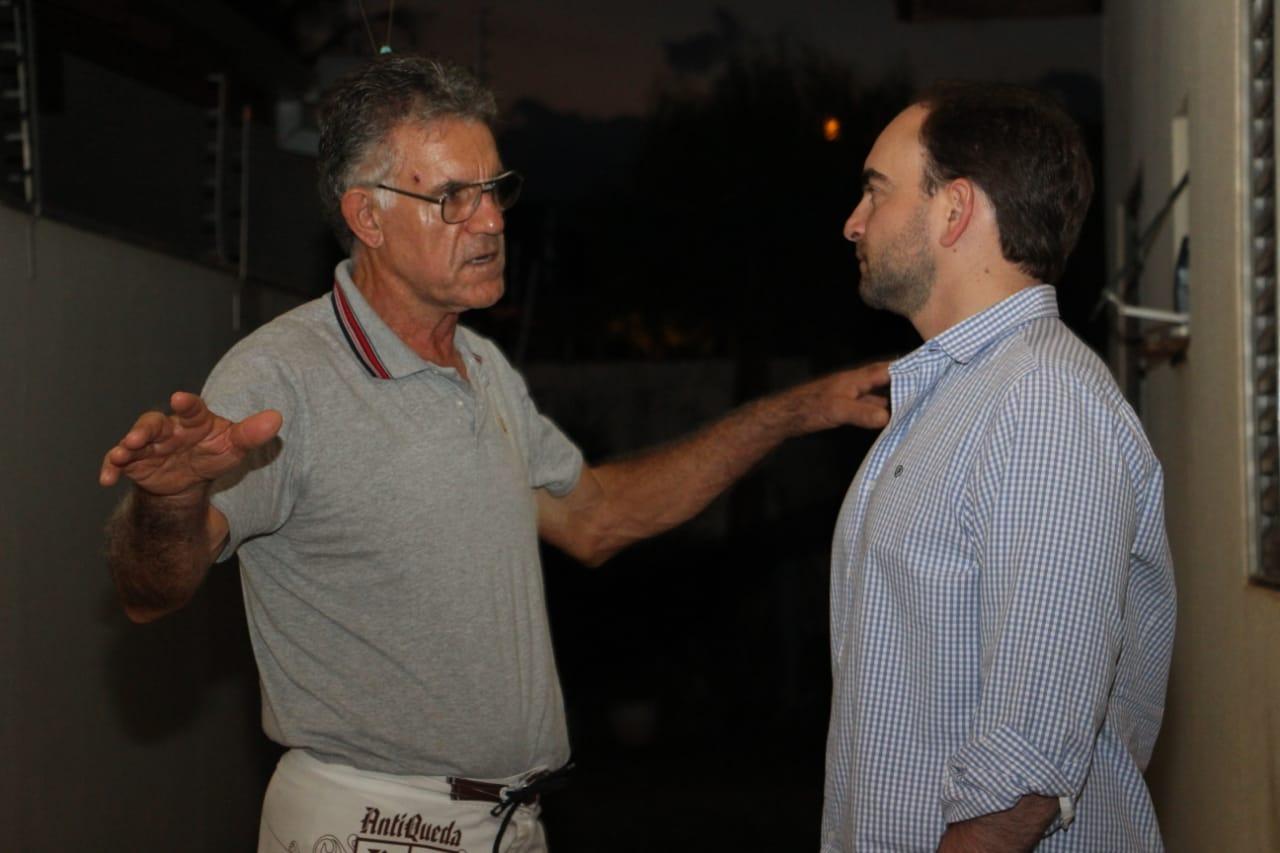 João César Mattogrosso tem percorrido os bairros de Campo Grande e ouvido demandas pontuais