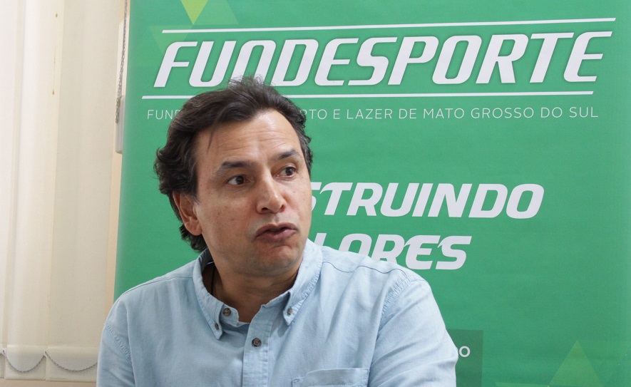 Marcelo Miranda: parceria garantiu piscina com dimensões olímpicas