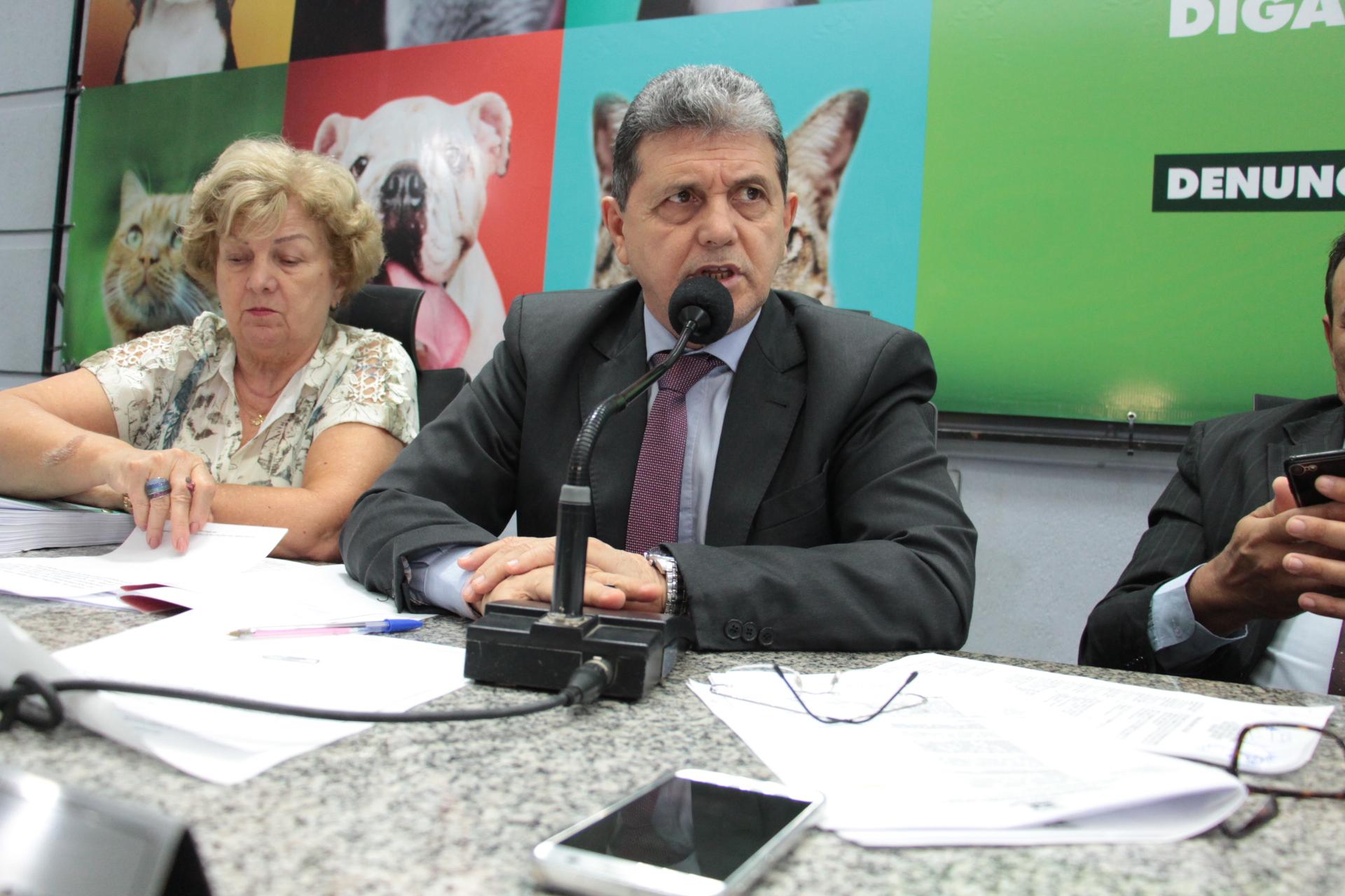 O vereador João Rocha: ações nas escolas públicas para valorizar o ser humano