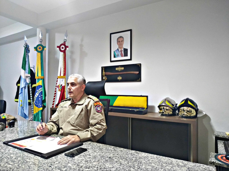 Comandante do CBM ressalta avanços, destaca apoio do Estado e diz que corporação está preparada para atender a população