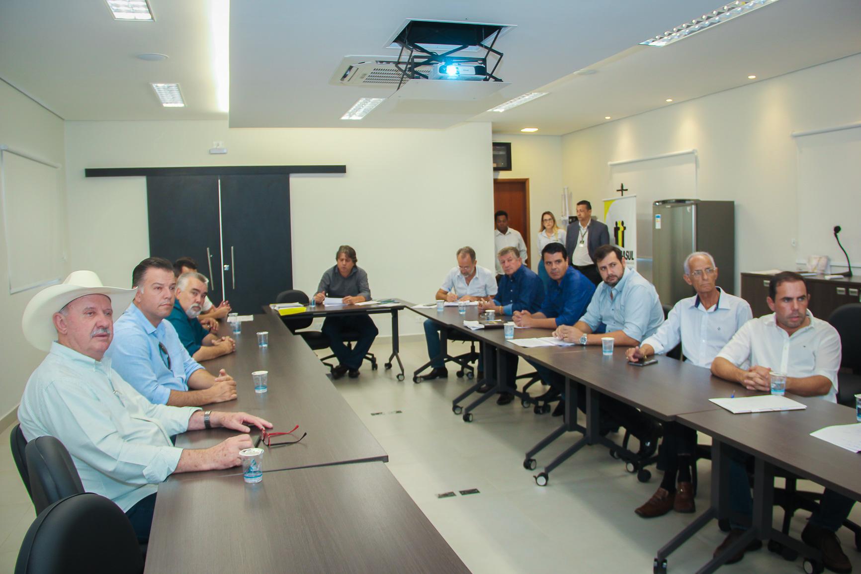 Diretoria da Assomasul: prefeitos querem segurança total para os eleitores e candidatos