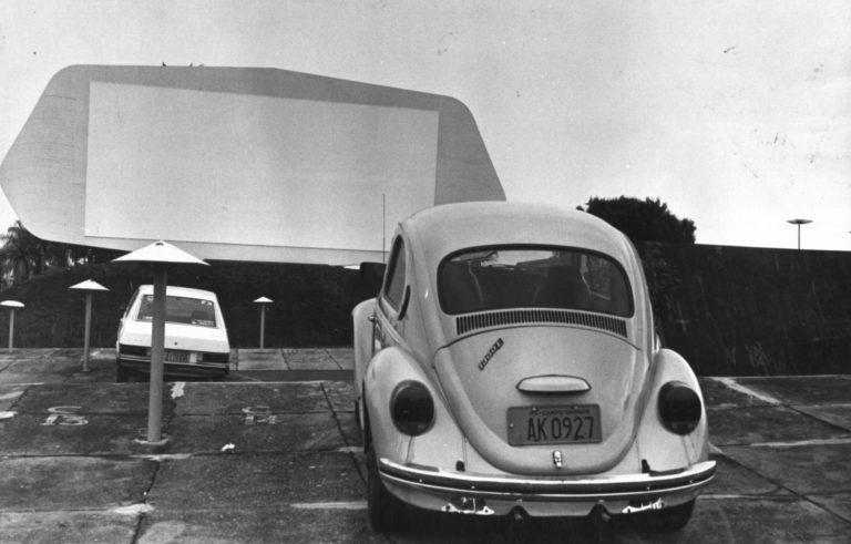 O Autocine foi criado em 1972 e funcionou durante 17 anos no mesmo local, ao lado do estádio Morenão