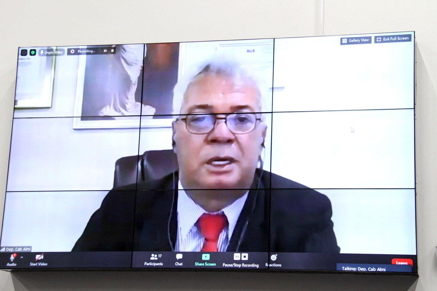 O deputado estadual Cabo Almi: muita gente com problemas de superendividamento