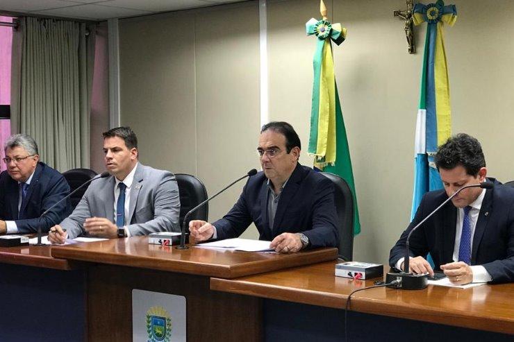 """Felipe Orro e colegas da CPI, reunidos: """"Nosso trabalho é a favor do consumidor"""""""