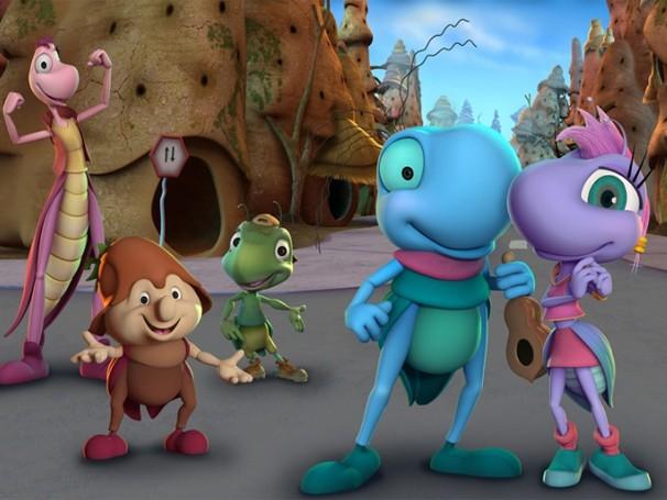 A animação 'O Grilo Feliz e os Insetos Gigantes' é a atração do Autocine Campo Grande de domingo (5)