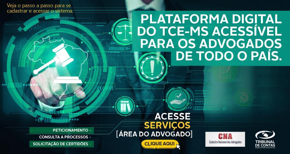 TCE Digital possibilita consulta de processos, protocolo de documentos, peticionamento, solicitação e emissão de certidão