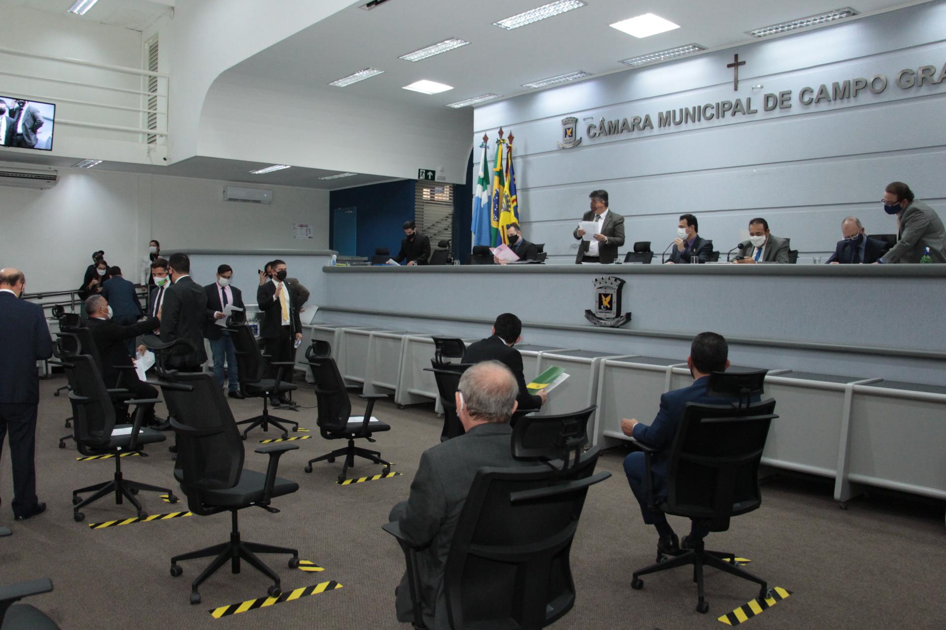 Vereadores aprovam por unanimidade o Refis: recursos para ações de combate à pandemia