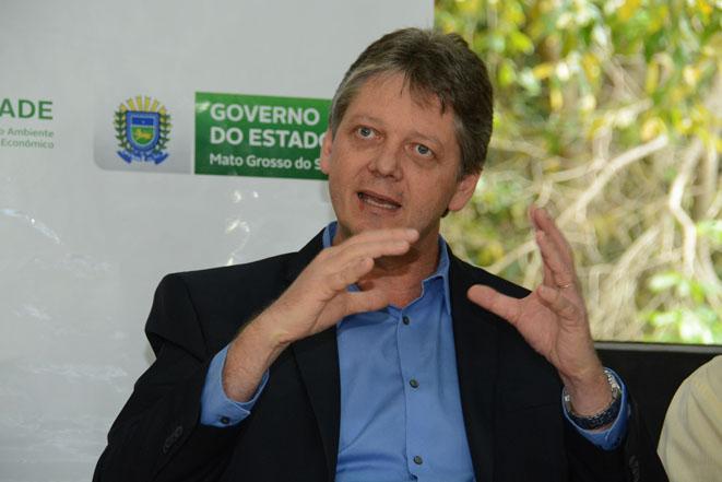 Jaime Verruck, secretário de Meio Ambiente e Desenvolvimento Econômico, destaca incentivo à produção local