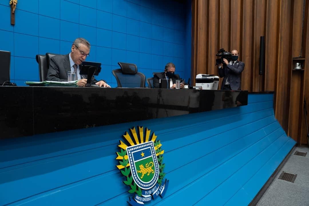 Paulo Corrêa conduz as sessões remotas na Assembleia Legislativa