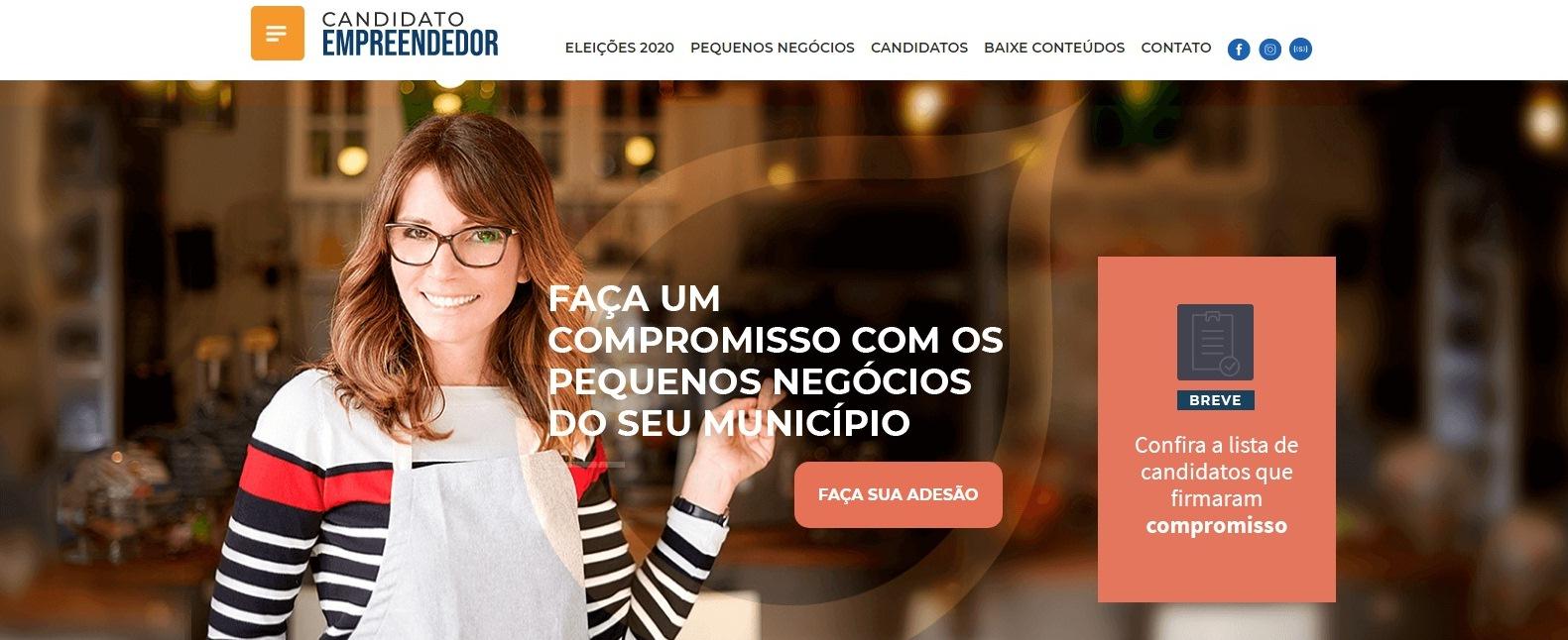 Sebrae deu início à atuação em prol dos pequenos negócios nas eleições  com o lançamento do Guia Seja Um Candidato Empreendedor