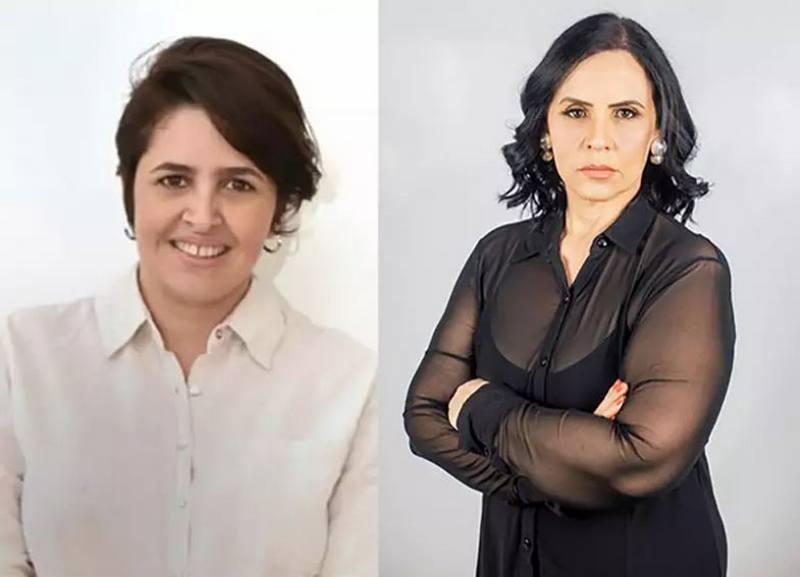 Cris Duarte (Psol) e Sidnéia Tobias (Podemos), de Campo Grande
