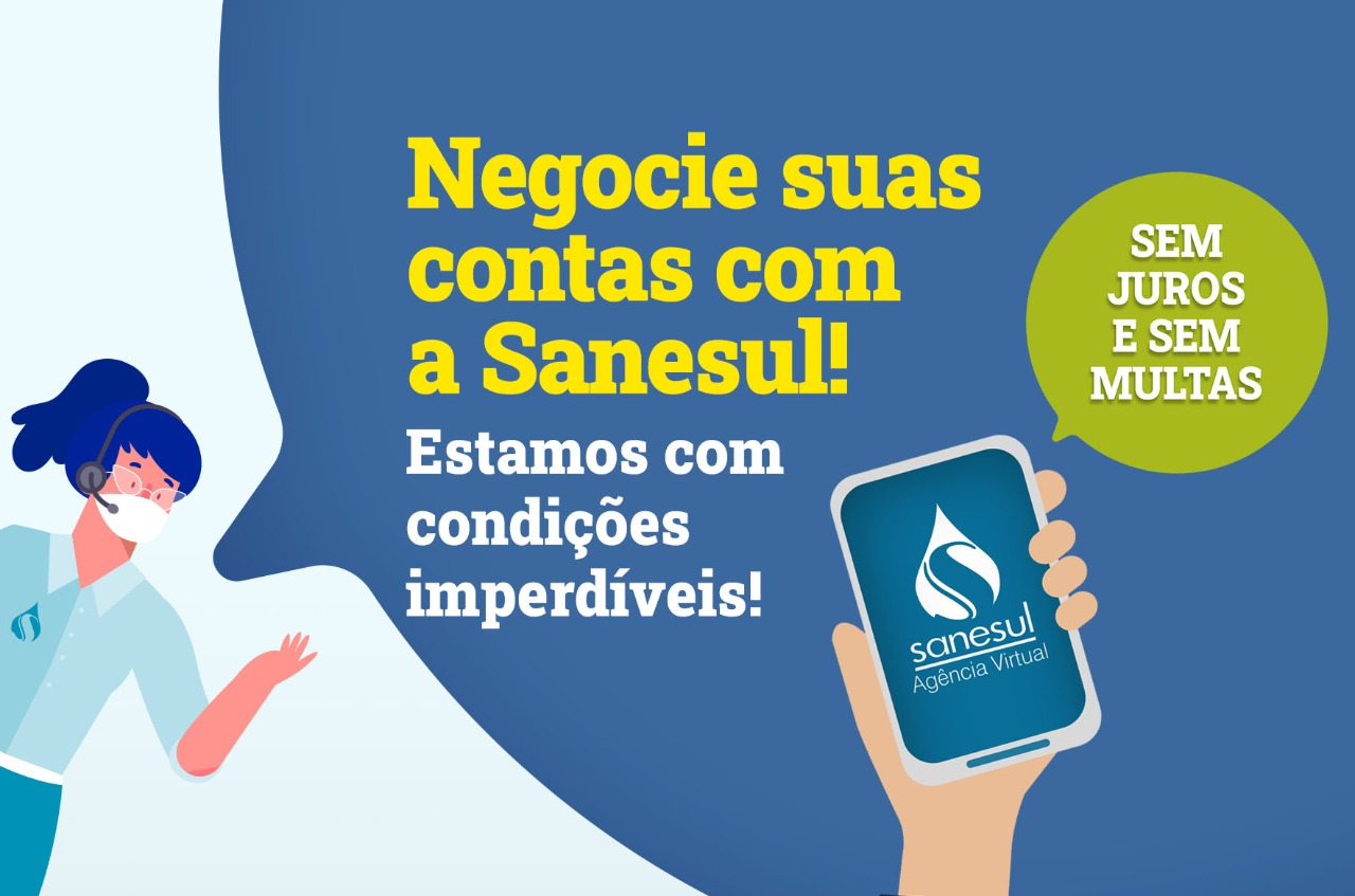 parcelamento-contas-atrasadas-sanesul-empresa-saneamento-juros-multas-pandemia-coronavírus-covid19-campo-grande-ms-2020