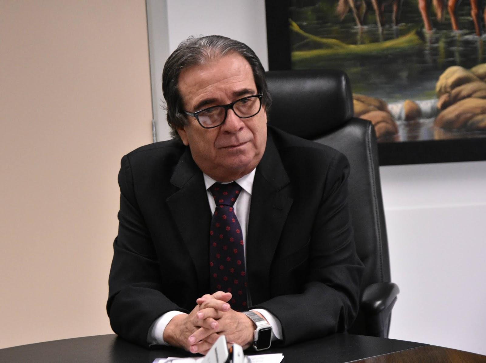 O presidente do TCE-MS, conselheiro Iran Coelho das Neves