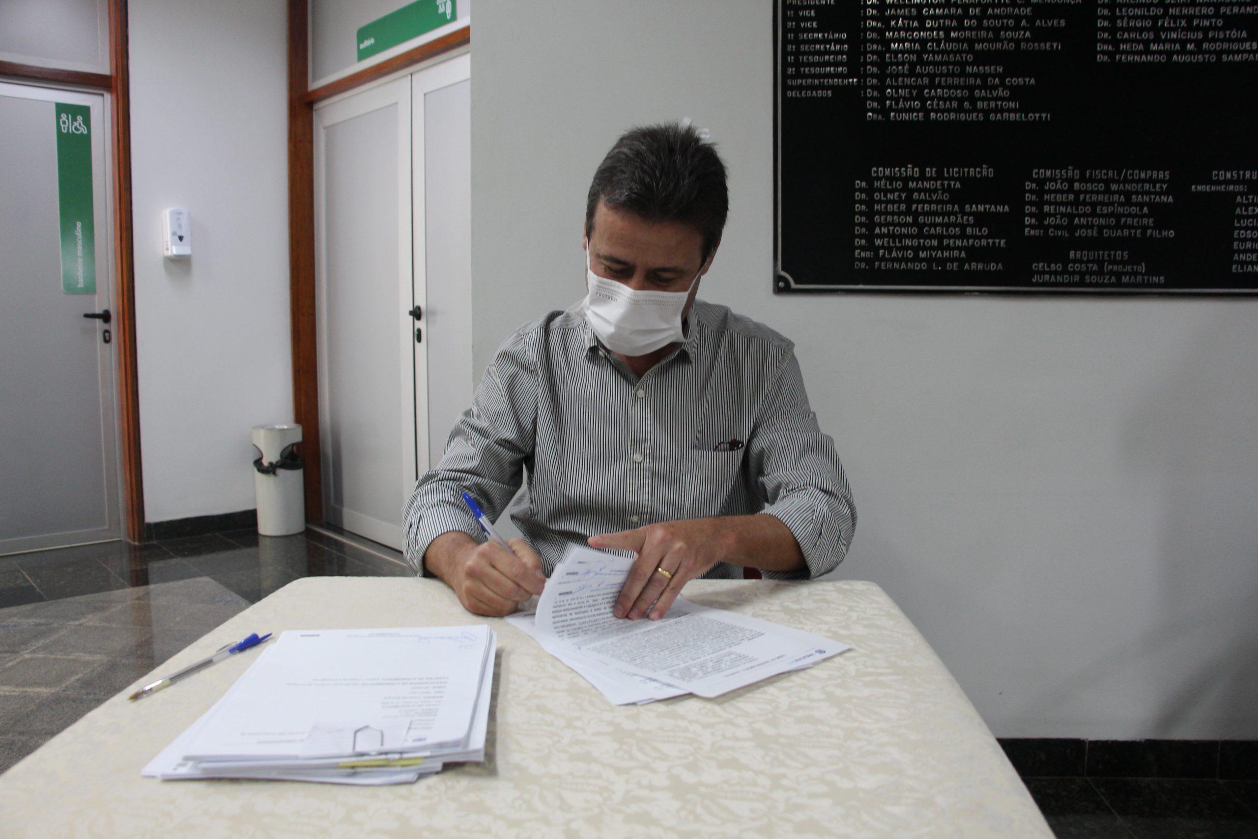 Dr Maurício Simões, diretor-presidente da Unimed CG, disse que será uma parceria de importantes trocas de experiências