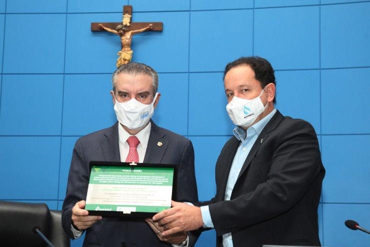 Dirigente da estatal destaca parceria e enaltece atuação do deputado Paulo Corrêa