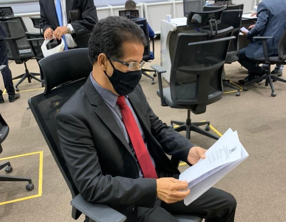 O vereador Eduardo Miranda atendeu solicitação da população do Santa Emília