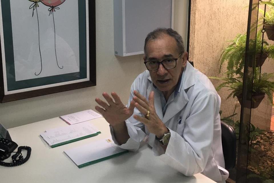 O médico Neudes Ribeiro Cardoso: tratamento precoce tem bases científicas