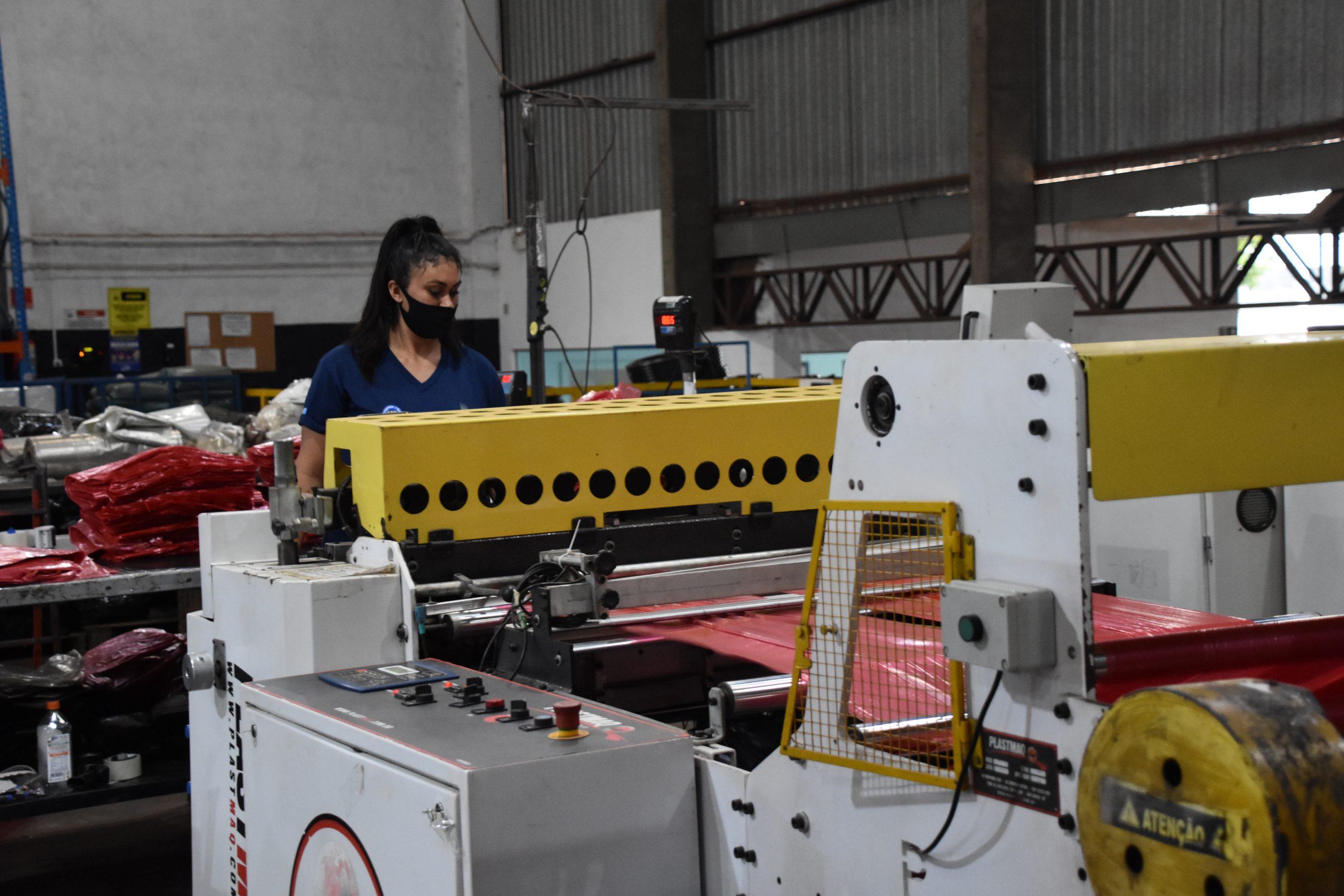 A atividade industrial responde por 24,9% de todo o emprego com carteira assinada existente em Mato Grosso do Sul
