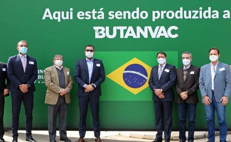 Paulo Corrêa, presidente da Casa, foi ao Butantan reforçar pedido por mais vacinas