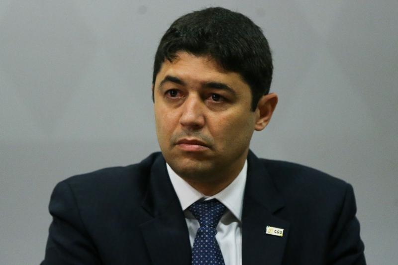 O ministro da CGU, Wagner Rosário: informação inexistente