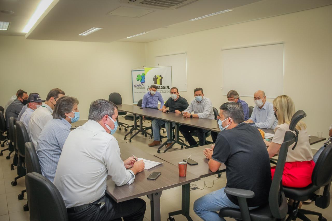 Reunião proveitosa: Riedel e prefeitos articulam avanços municipalistas