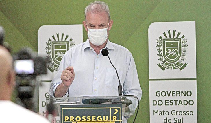 """Geraldo Resende, secretário de Saúde, faz a ressalva: """"Não afrouxem a vigilância"""""""