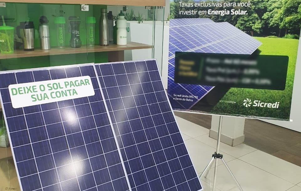 Sicredi disponibiliza linhas para projetos de energia solar em residências e empresas