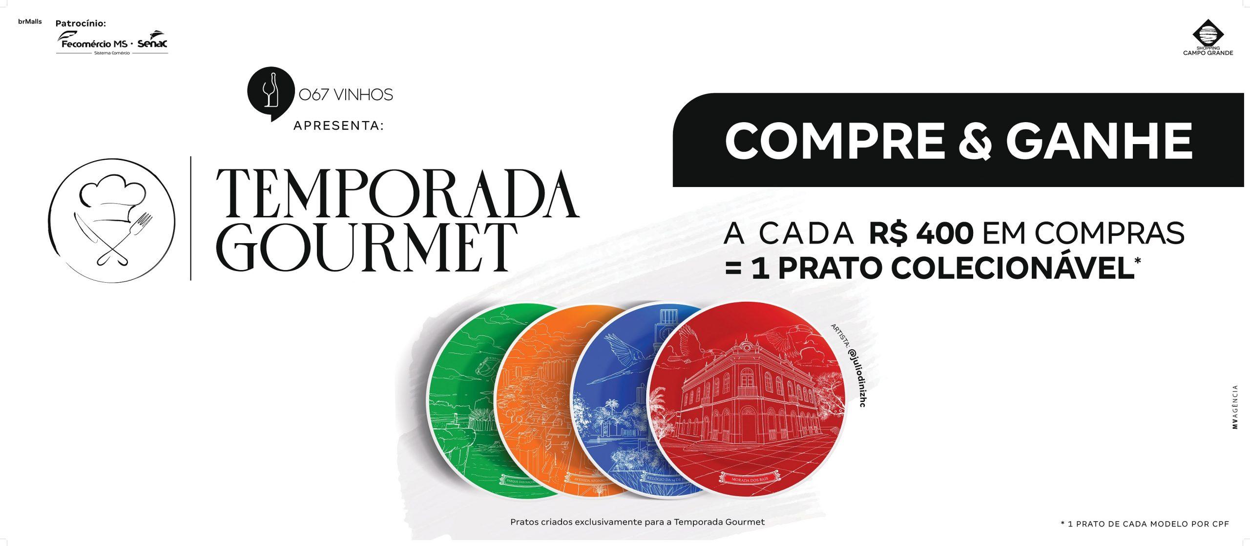 temporada-gourmet-shopping-campo-grande-promoção-pratos-combos-preços-únicos-pratos-colecionáveis-campo-grande-ms-2021